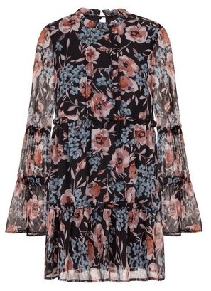Dorothy Perkins Womens Girls On Film Floral Print Shift Dress