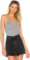 Rachel Pally Navarro Top in Black & White. - size L (also in M,S,XS)