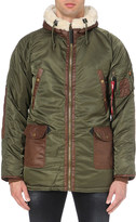 Alpha Industries N3-b3 quilted shell parka coat