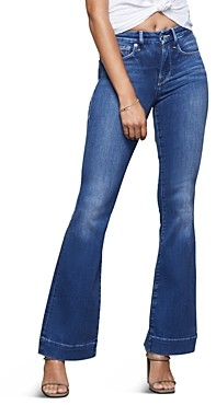 Good American Good Flare Jeans in Blue363