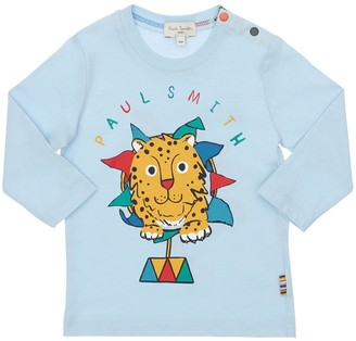 Paul Smith Lion Print Cotton Jersey T-Shirt