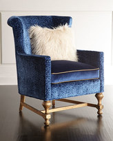 Old Hickory Tannery Gaynor Sapphire Chair