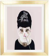 Deny Designs Coco De Paris Hepburn Cat By Glam Decor