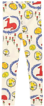 Mini Rodini Sighthound cotton leggings