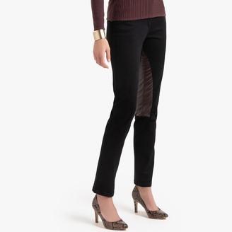 "Anne Weyburn Cotton Straight Jodhpur Trousers, Length 30.5"""