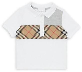 Burberry Baby Boy's Mini Jeff Cotton Polo