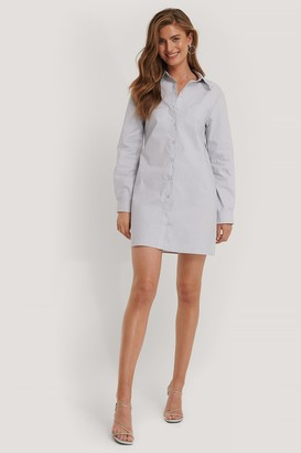 Kim Feenstra X NA-KD Chest Pocket Shirt Dress