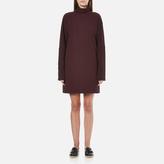 McQ by Alexander McQueen Women's Turtleneck Dress Port