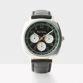 Paul Smith Men's Black 'Atomic' Watch
