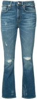 R 13 flared jeans - women - Cotton/Spandex/Elastane - 27