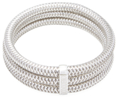 Roberto Coin Primavera 18K White Gold Triple Bangle Bracelet