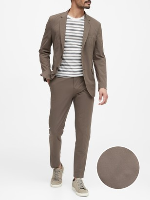 Banana Republic Slim Packable Performance Suit Jacket