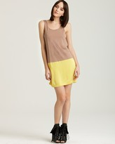 Laugh Cry Repeat Color Block Slip Dress