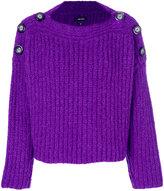 Isabel Marant button shoulder sweater