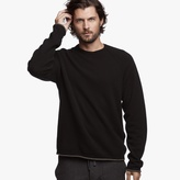 James Perse Reversible Cashmere Crew