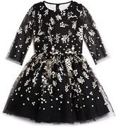 David Charles Girls' Black and Ivory Dress - Sizes 7-16