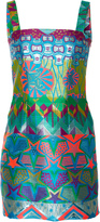Cynthia Rowley Monte Carlo Brocade Mini Dress