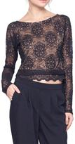 Gentle Fawn Lace Mesh Top