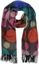 Paul Smith Multi-Coloured Spot Lambswool Men's Scarf