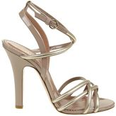 RED Valentino Gold Sandals