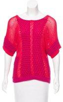Escada Sport Short Sleeve Colorblock Sweater w/ Tags