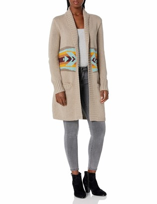 Pendleton Women's Open Long Cardigan Sweater