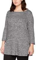 Evans Women's Rib Tunic Blouse