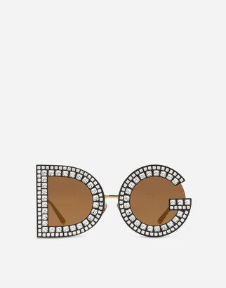 Dolce & Gabbana Glitter Sunglasses