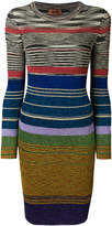 Missoni striped fitted dress