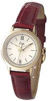 Limit Women's Quartz Watch with White Dial Analogue Display and Red PU Strap 6978.35