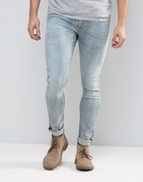 Nudie Jeans Co Skinny Lin Jean Scandinavian Ice Wash