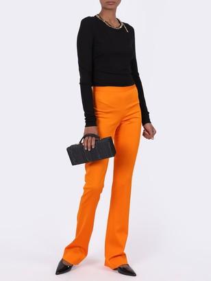 Versace High-waisted Boot Cut Pants
