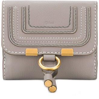 Chloé Marcie flap-over wallet