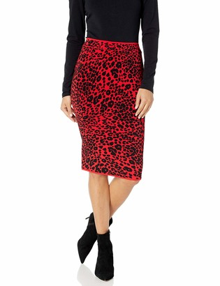 BCBGMAXAZRIA Women's Knit Pencil Skirt