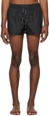 Dolce & Gabbana Black King Swim Shorts