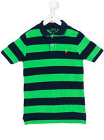 Ralph Lauren striped polo top - kids - Cotton - 2 yrs