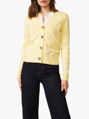 Phase Eight Camille Cardigan, Lemon