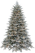 Williams-Sonoma Williams Sonoma Faux Lighted Flocked Vermont Spruce Christmas Tree