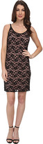 Adrianna Papell Sleeveless Beaded Lace Cocktail Dress