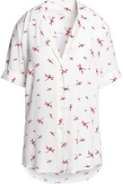 Equipment Colette Printed Washed-Silk Shirt
