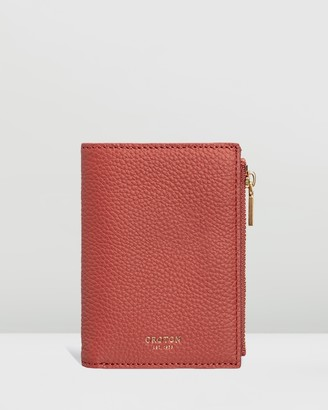 Oroton Duo Mini 10CC Zip Wallet