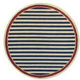 Couristan Nautical Stripe Indoor/outdoor Rug