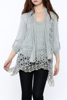 SCANDAL Susy Net Tunic Top