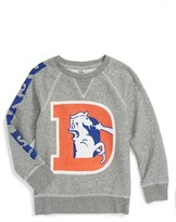 Junk Food Clothing Boy's Formation Denver Broncos Sweatshirt