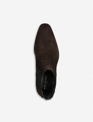 Kurt Geiger Frederick suede Chelsea boots