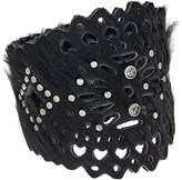 Leather Rock B575 Bracelet