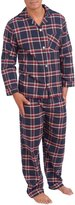 Platinum Menswear Men's Flannel Pajama Set