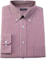 Croft & Barrow Big & Tall Striped Easy-Care Button-Down Collar Dress Shirt