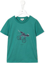 Paul Smith dinosaur print T-shirt - kids - Cotton - 4 yrs