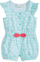First Impressions Elephant-Print Cotton Romper, Baby Girls (0-24 months), Created for Macy's